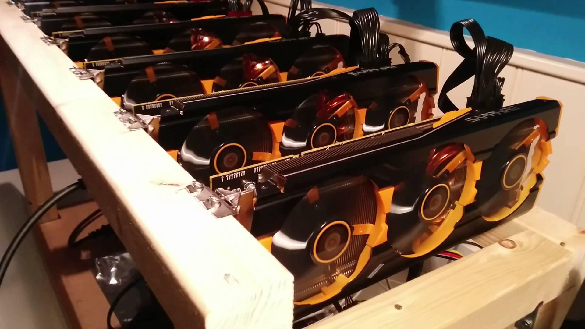 r9 290x crossfire mining bitcoins