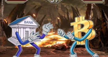 bank bitcoin 351x185 - Why Bitcoin is a Real Threat to the Traditional Financial System