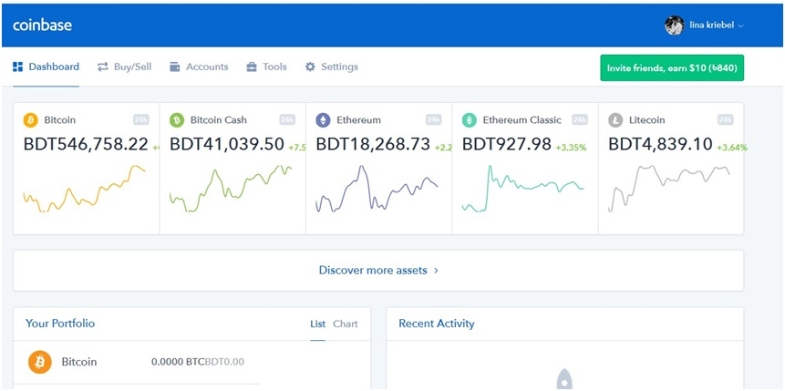 coinbase 6 - Guide to Coinbase for Beginner's and a Complete Review