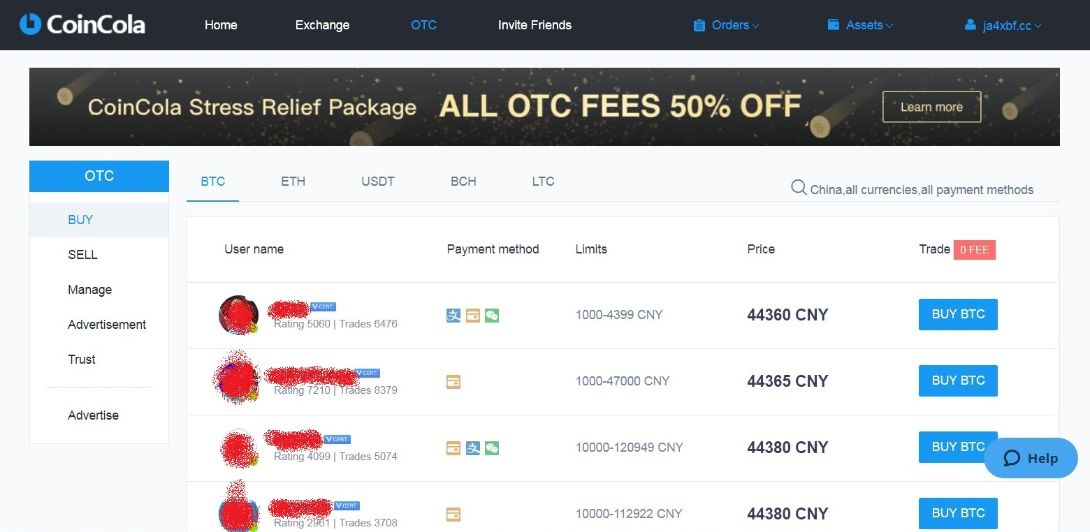 coincola otc - How to Buy & Sell Bitcoin on the CoinCola OTC Marketplace – Beginner's Guide