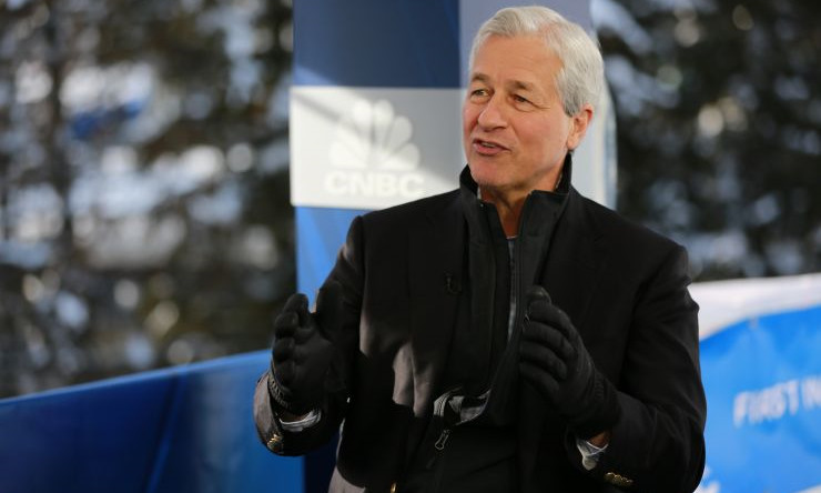 dimon - Jamie Dimon Says that Retail Customers Might use one Day JP Morgan Coins