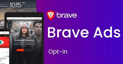 brave ads 351x185 - Brave Rewards Now Live, You Will Earn 70 Percent of Braves Revenue in Basic Attention Token