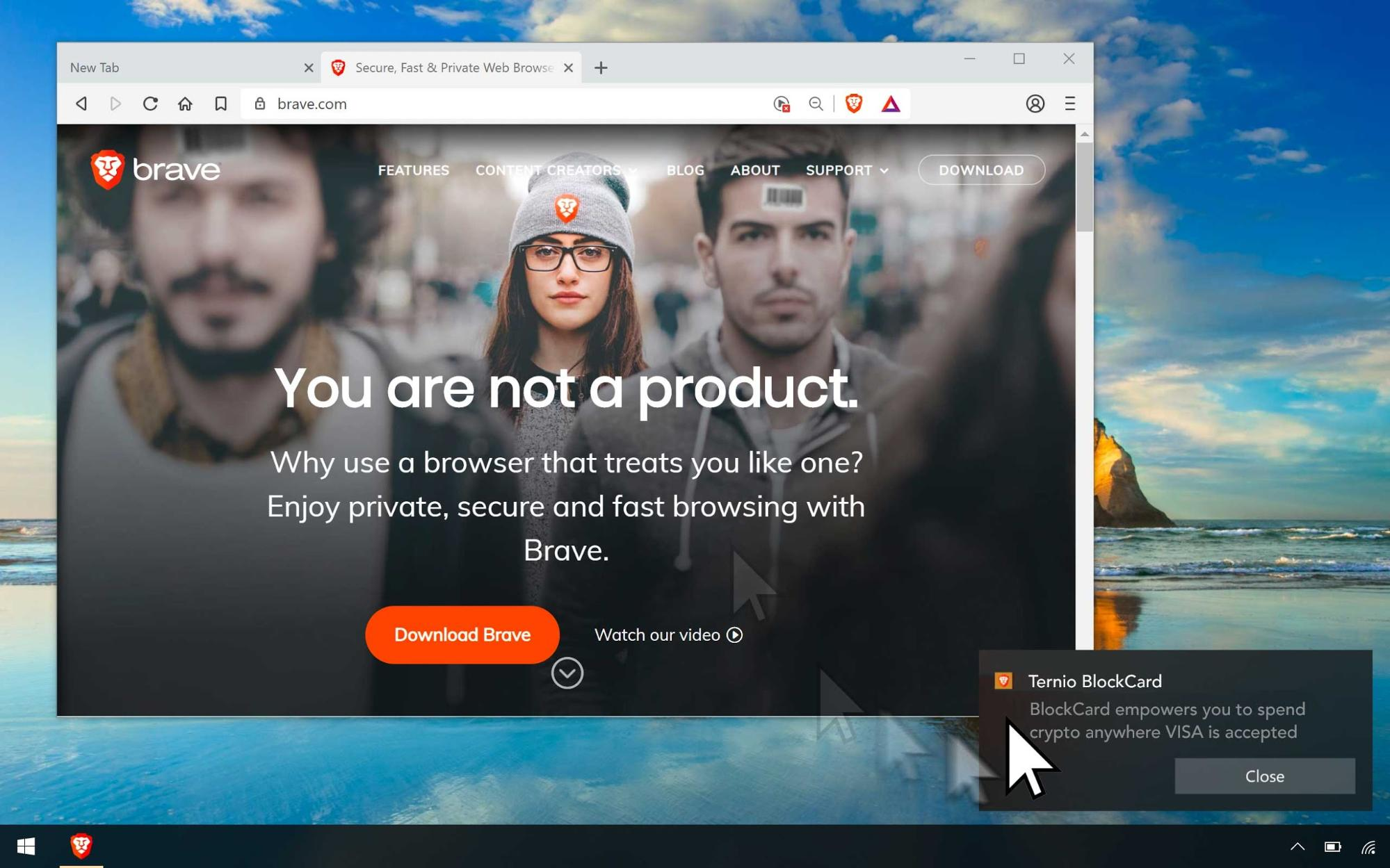 brave ads launch - Brave Ads are Live: Users now can get BAT for Viewing Ads