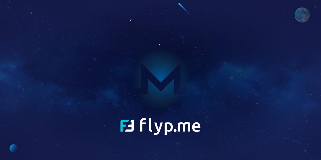 Flyp.me Monero - Flyp.me implements Monero's sub-addresses