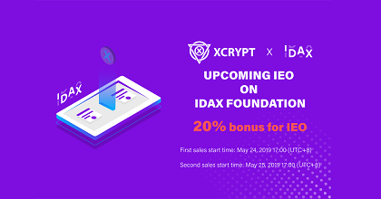 XCRYPT 351x185 - XCrypt: An exciting future-proof crypto exchange taking the IEO route