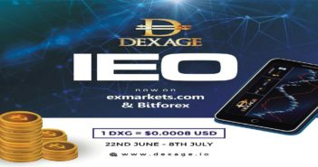 Dexage 351x185 - The Revolutionary Exchange -DEXAGE- has secured an IEO on BitForex and Exmarkets