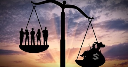 Economic Inequality 351x185 - How can Bitcoin Reduce Economic Inequality