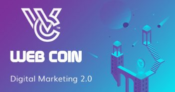Web Coin 351x185 - July 1, 2019 Webhits.io is to launch a beta platform with WEB token integration
