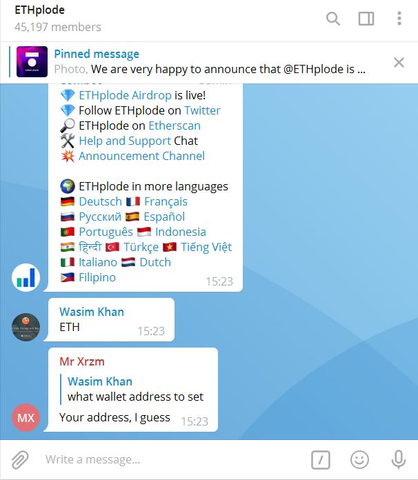ethplo telegram - Ethplode Token Airdrop – Get Free $25 Worth of ETHPLO Tokens