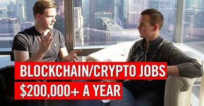 crypto job 351x185 - Get a $200,000 a Year Job in the Blockchain/Crypto Industry