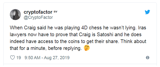 """458 - The BSV Narrative that Went From """"Craig is Satoshi and BTC is Screwed"""" to """"Craig is a Forger and BTC is Screwed"""""""