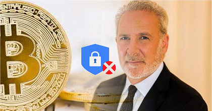 Peter btc 351x185 - Peter Schiff Loses His Bitcoin Wallet Password and Blames Bitcoin