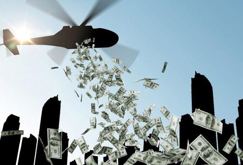 helicopter money - Hong Kong Giving $10,000 HDK Helicopter Money to all Adults – Fiat Money is Worthless