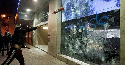 lebanon riot 351x185 - Banks in Lebanon Only Allow Withdrawals In Pound with Exchange Rates 40% Less than Rates in the Free Market