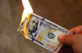 dollar burning 214x140 - We are in the Final Stage of the Collapse of the FIAT Currency Empire