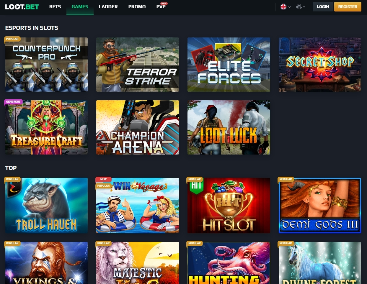lootbet 2 - The Right Place to Bet on Esports with Bitcoin and Ethereum - LOOT.BET Review