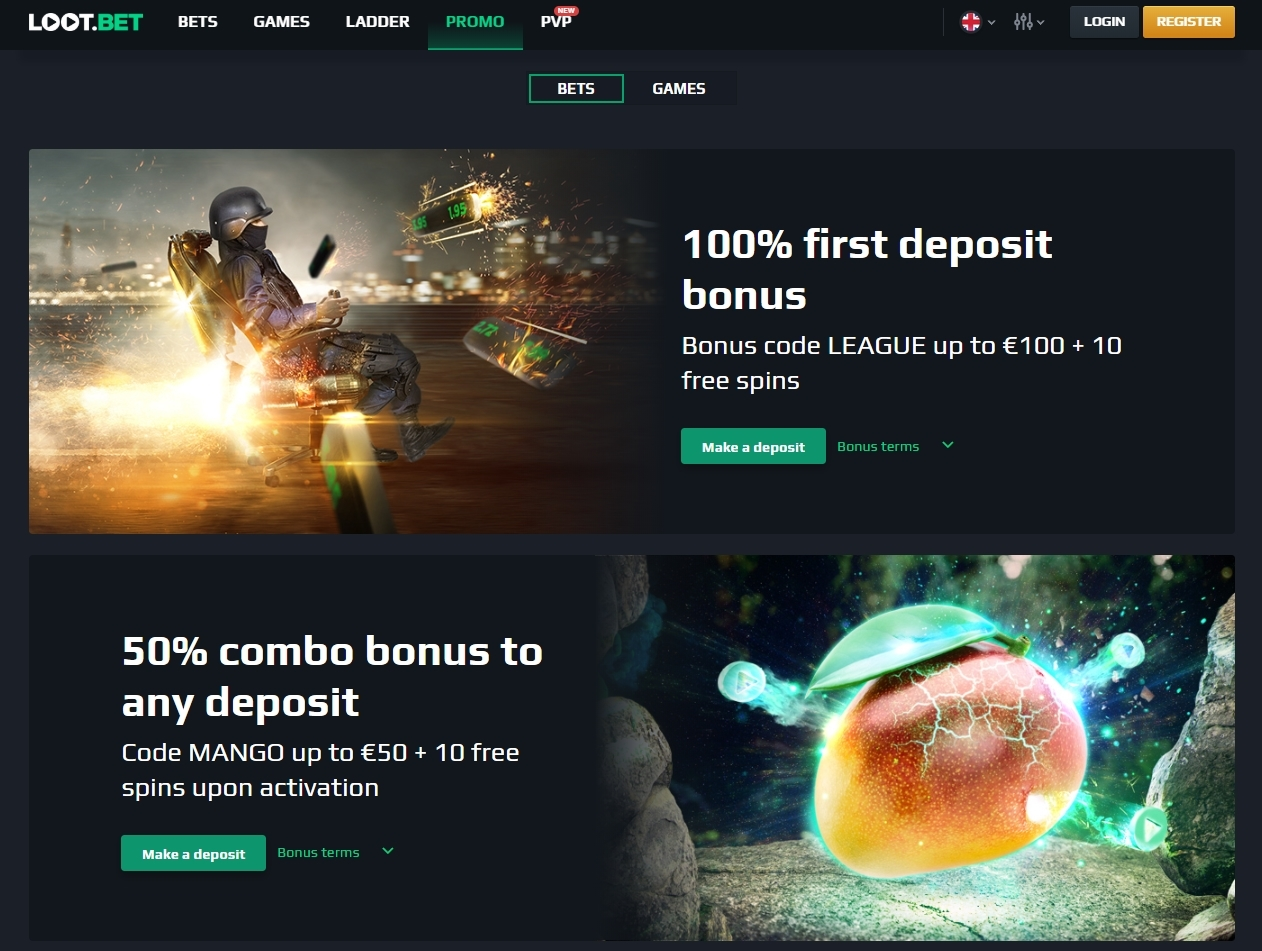lootbet 3 - The Right Place to Bet on Esports with Bitcoin and Ethereum - LOOT.BET Review